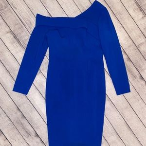 Black Halo Women's Dress, Size 12, Royal Blue, NWT